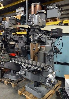 Bridgeport Vertical Milling Machine Inv.35807