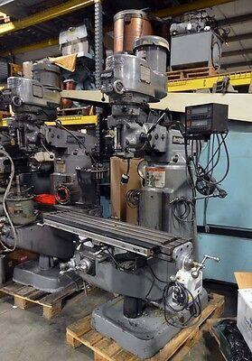 Bridgeport Vertical Milling Machine Inv.35807