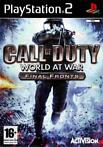 Call of Duty World at War Final Fronts - PS2 + Garantie