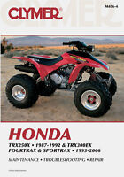 Clymer Shop Manuals For Honda ATV's Stratford Kitchener Area Preview