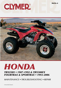 Clymer Shop Manuals For Honda ATV's Stratford Kitchener Area image 1