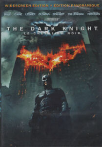 The Dark Knight Widescreen Edition Brand New and Sealed DVD