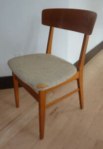Vintage Danish Furniture Industries chair - as is