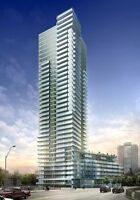 1 Bed+Den, new condo at Yorkville & Bloor area, 825 Church St.