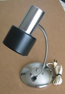 DESK LAMP 16 INCH WITH GOOSENECK METAL POST