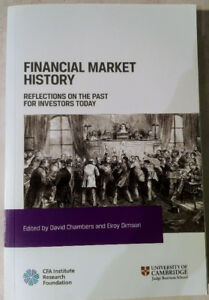 Financial Market History (Edited by Chambers and Dimson)