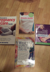 Like New Pregnancy Books and Workout DVD