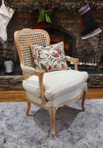 Beautiful Queen Anne Cane Back Chair Windsor Region Ontario image 5