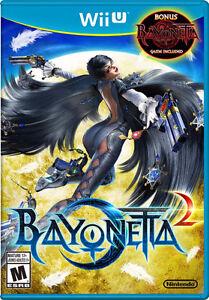Bayonetta 2 with Bayonetta 1 for Wii U!