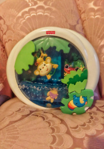 Fisher-Price Rainforest Peek-a-Boo Soother Waterfall Mobile