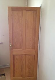 7 WOODEN DOORS, ALL 7 for £25 (not £25 each)