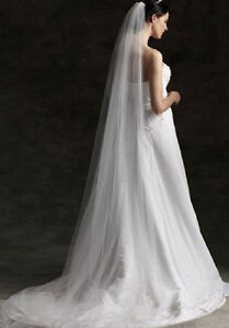 NEW Ivory Cathedral Veil