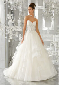 Gorgeous MORI LEE wedding gown for sale