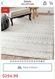 Area rug - brand new in wrap