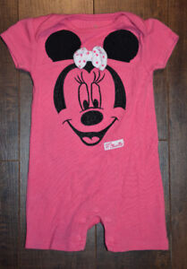 Disney Baby MINNIE MOUSE Pjs (0-3M)