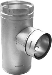 DuraVent 3 in. to 4 in. Multi-Fuel Chimney Stove Pipe Increaser