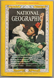 Several Back Issues of National Geographic Magazines