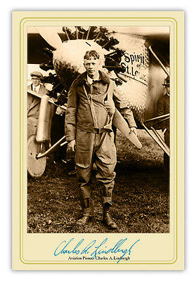 1927 CHARLES LINDBERGH SPIRIT OF ST. LOUIS AIRPLANE PHOTO AVIATION