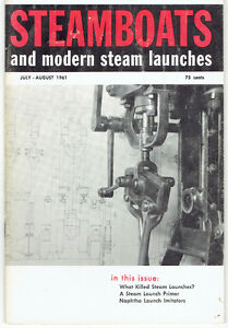"Nine 1961/62/63 ""Steamboats and Modern Steam Launches"" Magazines Kingston Kingston Area image 2"