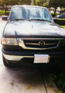 Pick Up Truck for Sale As Is -2001 Mazda 4x4 Less than 170,000km