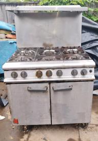 Falcon 6 Burner commercial cooker
