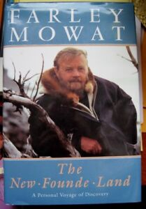 "Farley Mowat "" The New Founde Land "" Book"