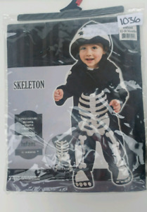 GUC 12- 18 Month Infant Skeleton Costume