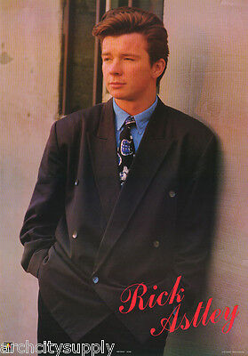 POSTER: MUSIC : RICK ASTLEY - NEVER GONNA GIVE IT UP -  FREE SHIP! #AA344 RBW4 T