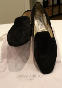 Jimmy Choo Suede Oxford Driving Moccasin Loafer Flats US 10