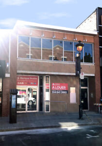 Retail Space for Lease on Wellington in Verdun