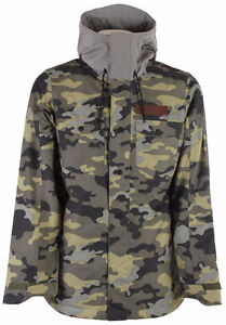 Brand new OAKLEY Men's DIVISION Insulated Jacket - Olive Camo