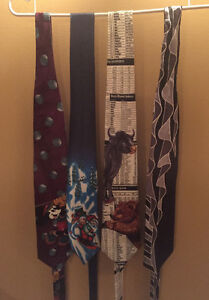 Neck Ties all (4) OBO