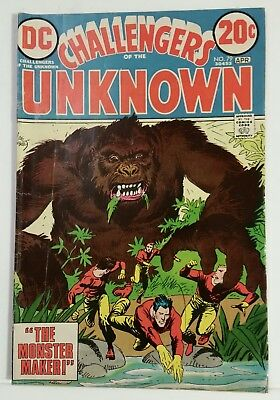 CHALLENGERS OF THE UNKNOWN # 79 - DC COMICS - APRIL 1973