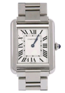 EUC Cartier Tank Solo Watch