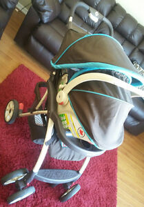 Safety first stroller & car seat