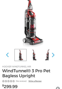 Vacuum like new, barely used 299.99 originally