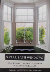 Traditional Sash & Casement Window Specialist.