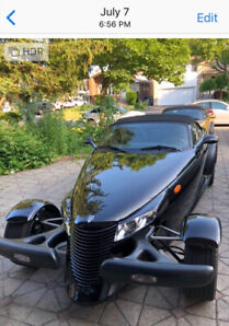 2000 Plymouth prowler Black beauty show room condition