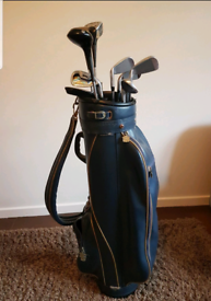 Golf clubs with putter