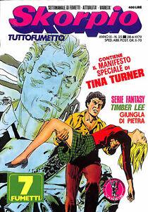912-SKORPIO-ed-Eura-1979-con-poster-Tina-Turner-n-25-stato-Ottimo