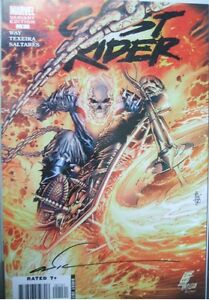 Ghost Rider #1 Comic, signed by the artist.