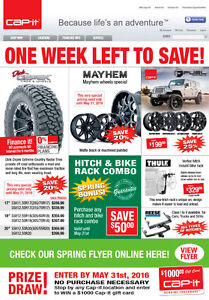 ONE WEEK LEFT TO SAVE ON MASSIVE SPECIALS AT CAP-IT