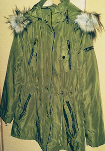 Stylish parka