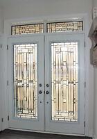 DIVINE DOOR DESIGNS | GLASS DOOR INSERTS