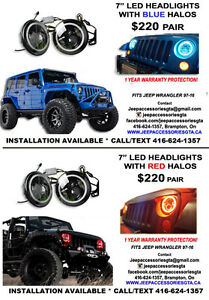 JEEP WRANGLER ACCESSORIES/PARTS & LED LIGHTS London Ontario image 7