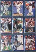 Toronto Blue Jays McDonalds Great Moments 1985-1992 Complete Set