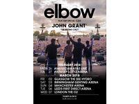 X4 Elbow Tickets Genting Arena Birmingham