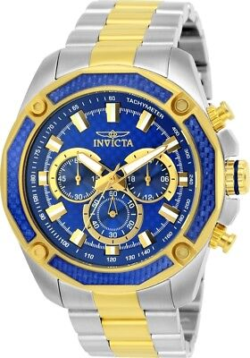 Invicta 25975 Men's Aviator Chronograph 48mm Blue Dial Watch
