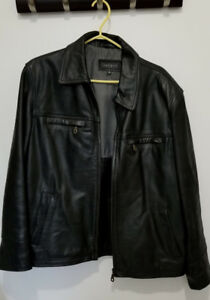 Veste de cuir pour homme / Men's Leather Jacket