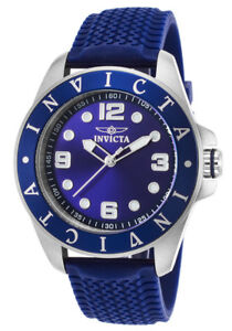 NEW Invicta Men's 21845 Pro Diver Stainless Steel Blue Watch